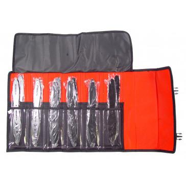 "9"" Set of 12 Blackwater Throwing Knives"