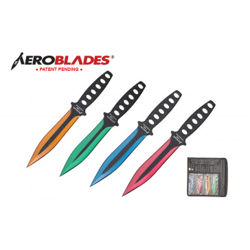 4pc Throwing Knives Set