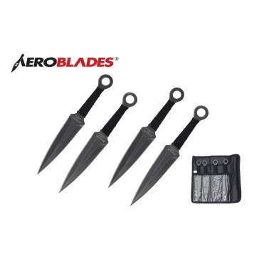 4 Piece Throwing Knive Set