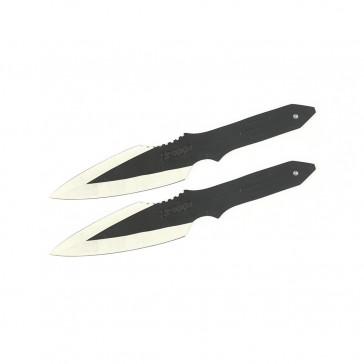 "Set of 2 8.5"" Speed Throwing Knives"