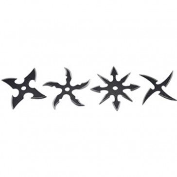 Black Throwing Stars