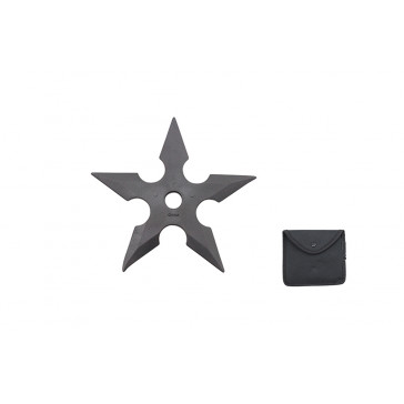 """5"""" Rubber Throwing Star"""