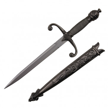 Knight Scarab Dagger 14'' Stainless Steel With Scabbard