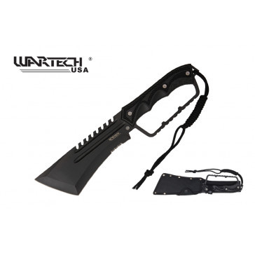 "15.25"" Survival Knife w/ Serration"