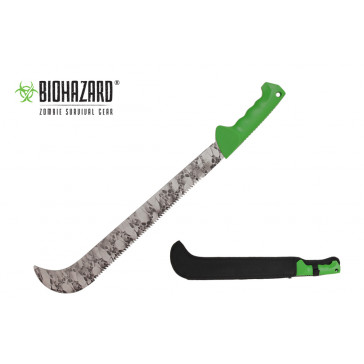 "23 3/8"" Biohazard Machete"