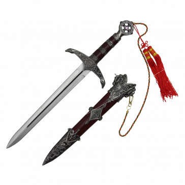 Robin Hood Dagger With Brown Scabbard 1""