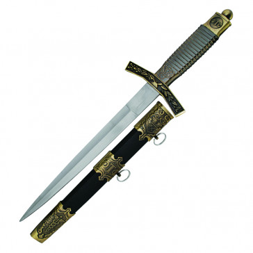 Black And Gold German Dagger