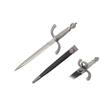 "17""  Renaissance Dagger w/ Scabbard"
