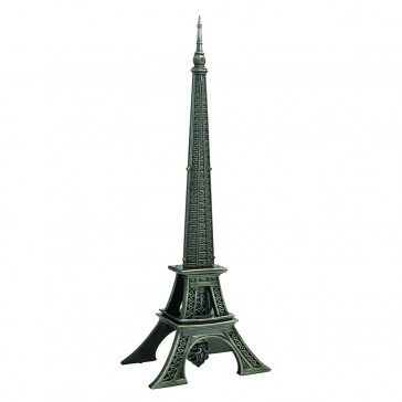 "15"" Eiffel Tower Display w/ Dagger"