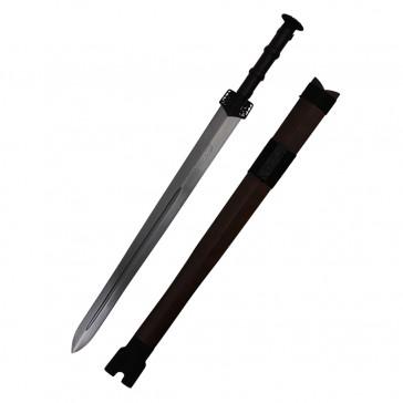Han Sword w/ Wood scabbard