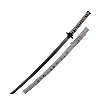 White Katana With Sword Bag