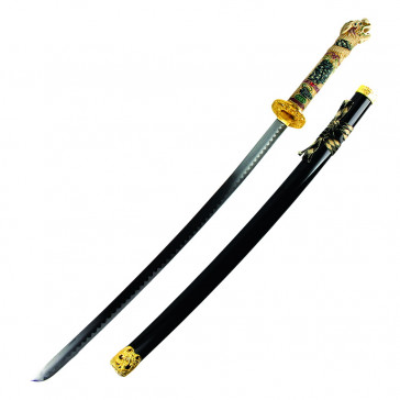 "42 1/2"" Open Mouth Dragon Katana"