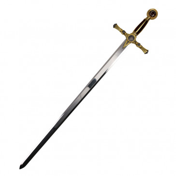 """45"""" Red And Gold Masonic Sword"""
