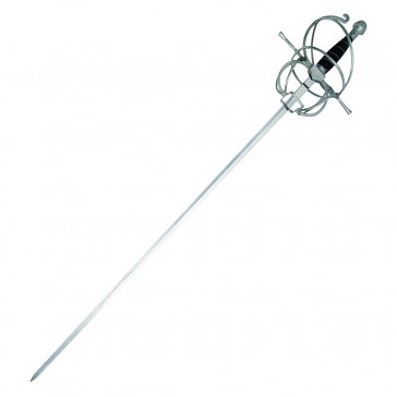 "43"" Rapier With Black Scabbard"