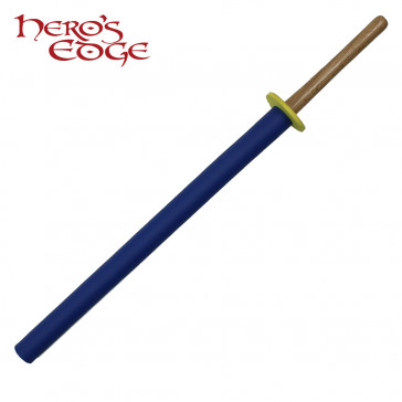 "36"" Foam Blue Padded Practice Sword"
