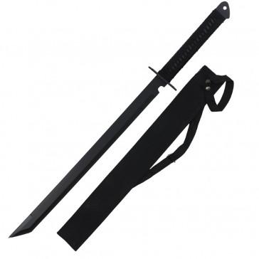 "28"" Ninja Sword w/ Cross Guard"