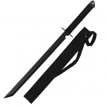 "28"" Ninja Sword w/ Cross Guard"
