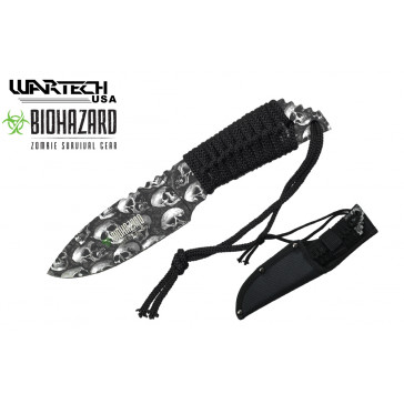 """8 1/4"""" Zombie Hunting Knife"""