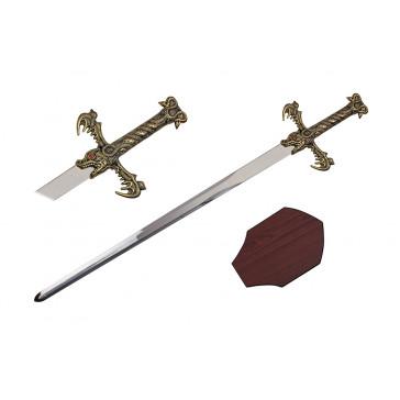 "40"" Dragon King Sword (Sword & Plaque)"