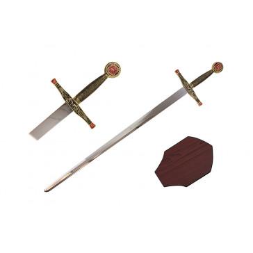 "40"" King Arthur Sword (Sword & Plaque)"