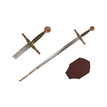 "40"" King Arthur Sword (Sword & Plaque)"