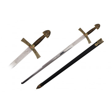 "40"" Ivanhoe Sword (Sword & Sheath)"
