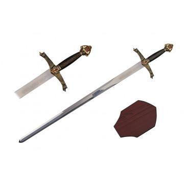 """40.5"""" Lancelot Sword (Sword & Plaque)"""