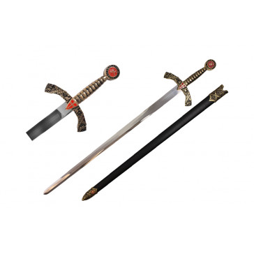 "40"" Medieval Sword (Sword & Sheath)"
