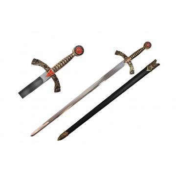 "40"" Medieval Sword (Sword & Sheath)"