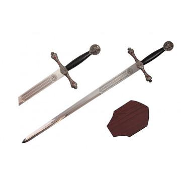 """44"""" Cantar De Mio Cid Sword (Sword & Plaque)"""