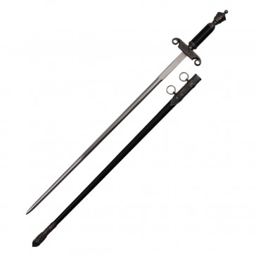 """35"""" Medieval Sword With Sheath"""