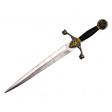 "17"" Stainless Steel Medieval Dagger"