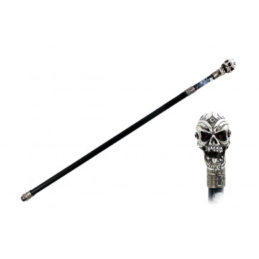 (2 part NO BLADE) ROUND TOP  WALKING CANE