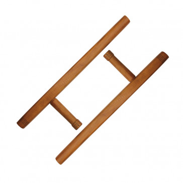 Pair of Wooden Tonfas (Wood)