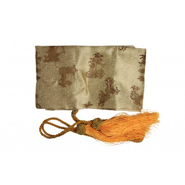 Gold Sword Bag With Tassels