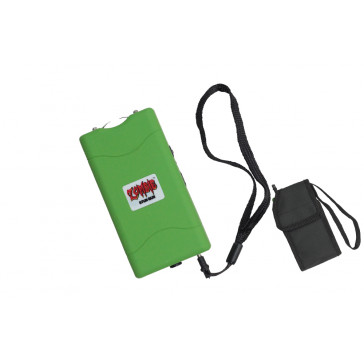 Rechargeable Stun Gun w/ Flashlight (w/ Safety Pin)