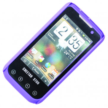 2.5M Volt Smart Phone Stun Gun w/ Holster (Purple)