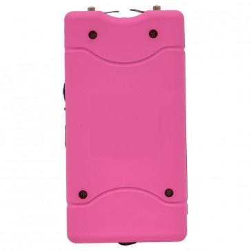 """Tachyon 4"""" Bubblegum Pink Rechargeable Stun Gun w/ Flashlight (No Safety Pin)"""