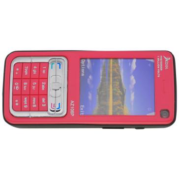 1.2M Volt Rechargeable Cell Phone  Stun Gun w/Flashlight (Pink)