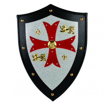 Knight's Templar Royal Metal Crusader Shield