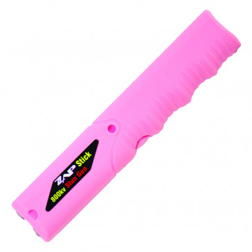800K Volt Stun Gun w/ Flashlight (Pink)