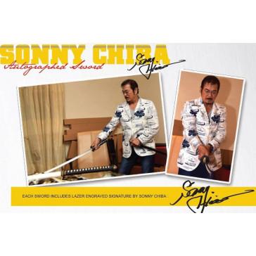 "*** EXCLUSIVE *** 42"" Hattori Hanzo-Sonny Chiba Signature Series AUTOGRAPHED Kill Bill Hand Forged Battle Ready Samurai Katana - Bride's Sword"