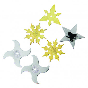 Variety Throwing Stars