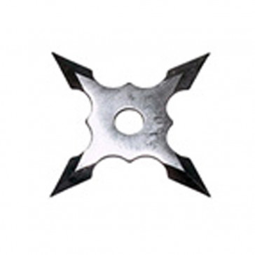 Chrome Throwing Star