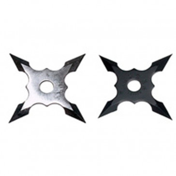 Black/Chrome Throwing Stars