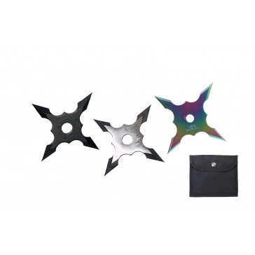 4 Point Throwing Stars (Assorted)