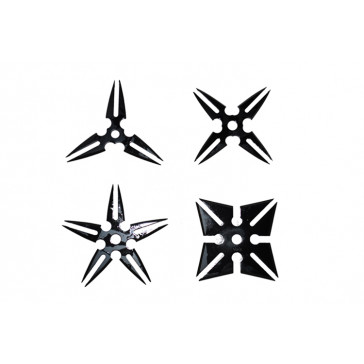 Black Throwing Stars