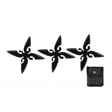 4 Point Ninja Stars (Black)