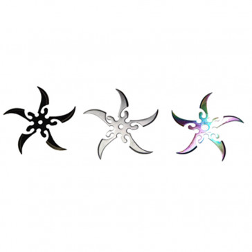 Variety Color Throwing Stars