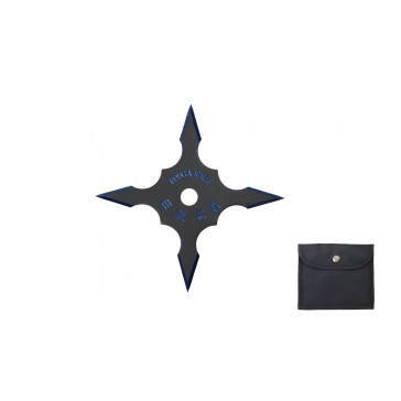 4-Point Technicolor Throwing Star